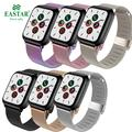 Миланский ремешок для часов Apple Watch 38 мм 42 мм 44 мм 40 мм из нержавеющей стали для женщин и мужчин браслет ремешок для iWatch 3 4 5 6 SE