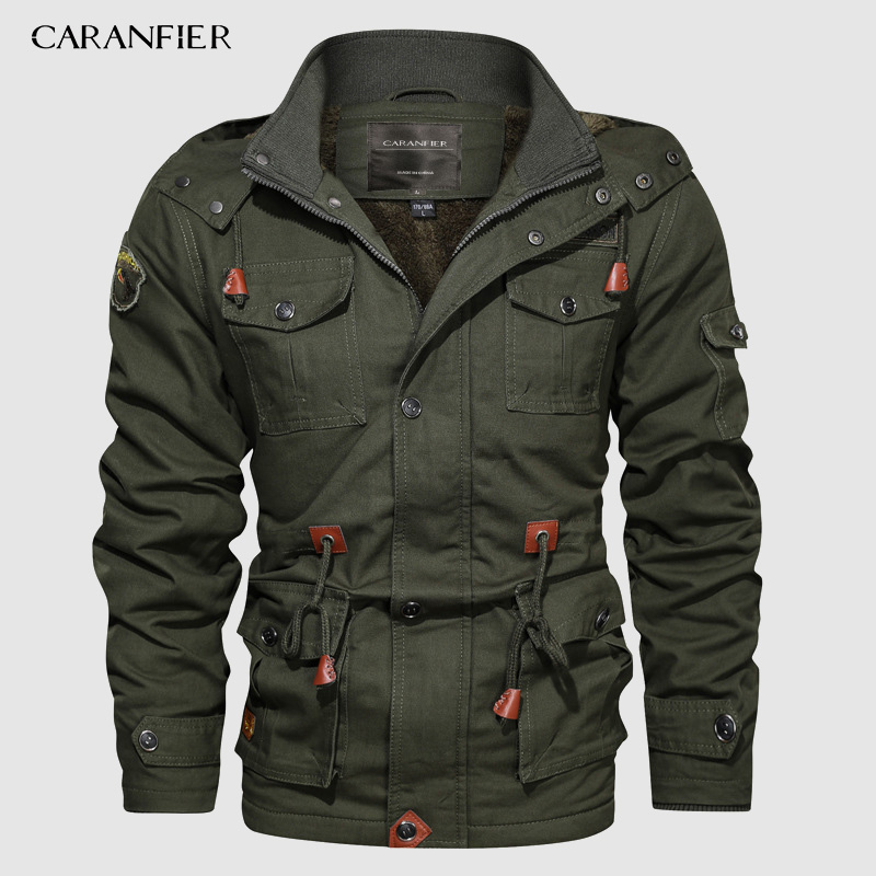 G-Real Autumn Winter Fashion Slim Thick Fleece Coats Mens Button Thermal Leather Jackets