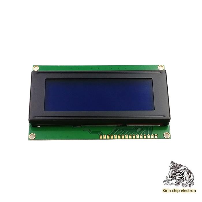 4PCS/LOT 2004 LCD 2004A LCD 2004 Module 5V Blue Screen 20X4 LCD