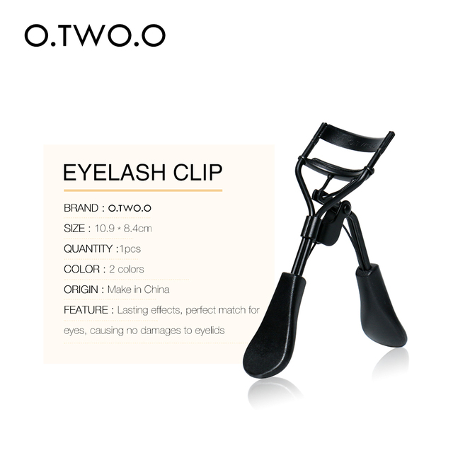 O.TWO.O Makeup Eyelash Curler Beauty Tools Lady Women Lash Nature Curl Style Cute Eyelash Handle Curl Eye Lash Curler 2 Colors 2