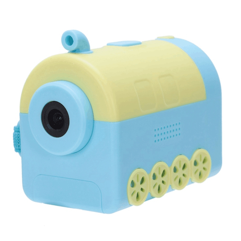 Children's Waterproof Camera Toy Cartoon Digital Camera Drop Motion Camera Digital Video Camera DVD Locomotive image