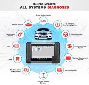Image 2 - Scanner de voiture dautel MaxiPRO MP808TS Scanner de Diagnostic de voiture OBD2 outil de Diagnostic automatique