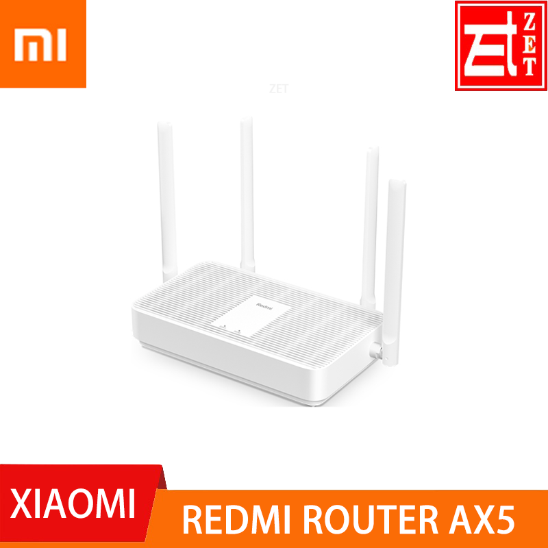Original  Xiaomi Redmi Router AX5 WiFi 6 1800 5-Core 256M Memory Mesh Home IoT 4 Signal Amplifier 2 4G 5GHz Both 2 Dual-Band