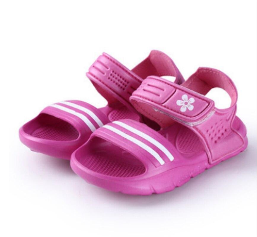 Niño niños poco grande niñas sandalias de verano Casual Cool Sandalias Zapatos de los niños niño playa zapatos