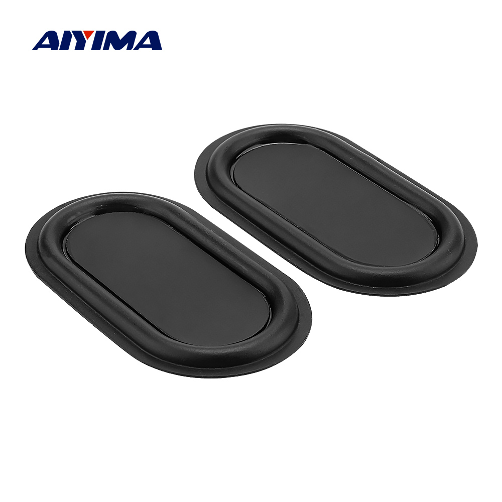 AIYIMA 2Pcs 70x40 Bass Diaphragm Passive Radiator Sound Audio Speaker Accessories Vibration Membrane Woofer Speaker Repair Parts