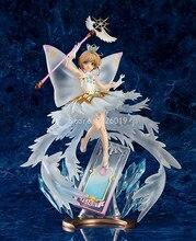 Привлекательная фигурка КИНОМОТО Сакура, фигурка аниме 35 см, прозрачная фигурка аниме «Hello Brand New World», фигурки героев аниме, игрушки