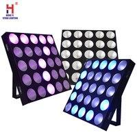 25x10w 3in1 RGB Kopf Led bühne licht weiß cob LED matrix strahl licht led Wand waschen dj licht partei par licht