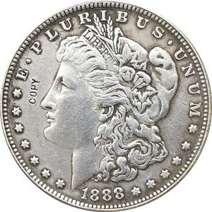 1888 сша Морган долларовые монеты КОПИЯ