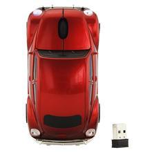 Wireless Mouse 1000DPI USB Mini Wireless Gaming Mouse Car Design Cute Optical Wireless Mouse Laptops Mouse solarbox x07 blue usb travel optical mouse 1000dpi прозрачный корпус с led подсветкой