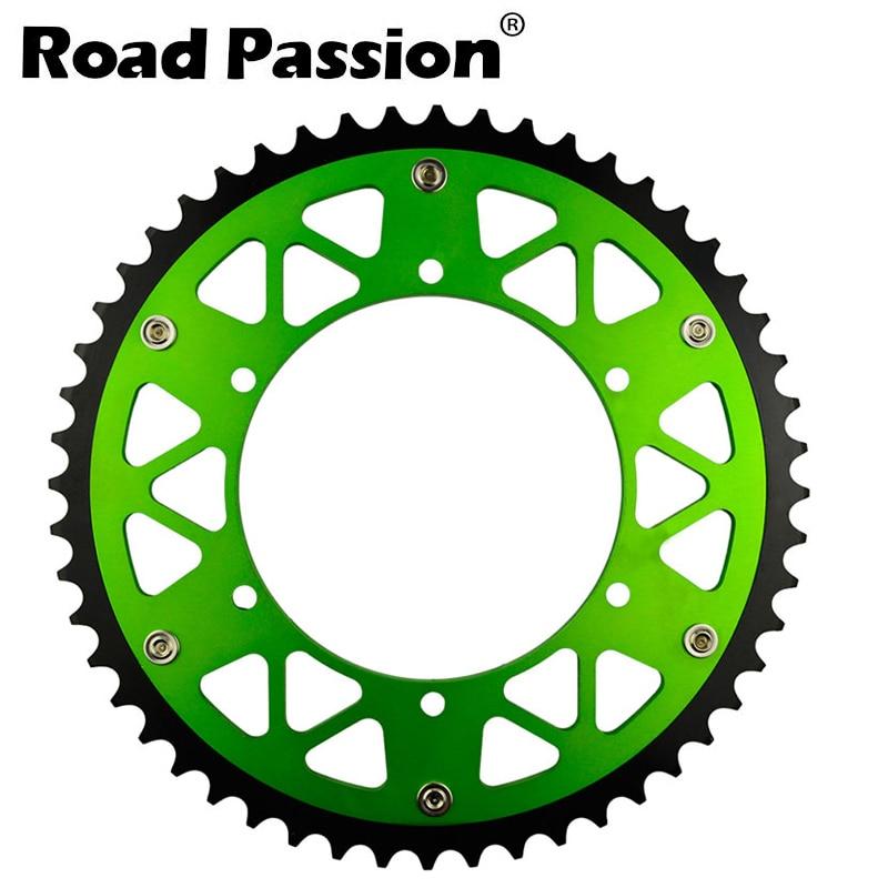 Road Passion Motorcycle Rear 48T Sprocket / Chain Wheel For KAWASAKI KLX 450 R KLX450R 2007-2014 KX450 F KX450F 2006-2014