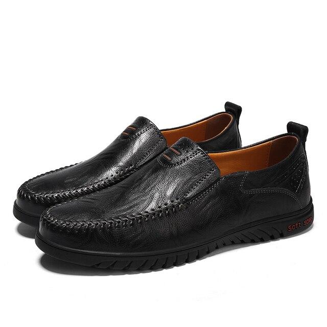 Туфли мужские кожаные итальянский стиль 2
