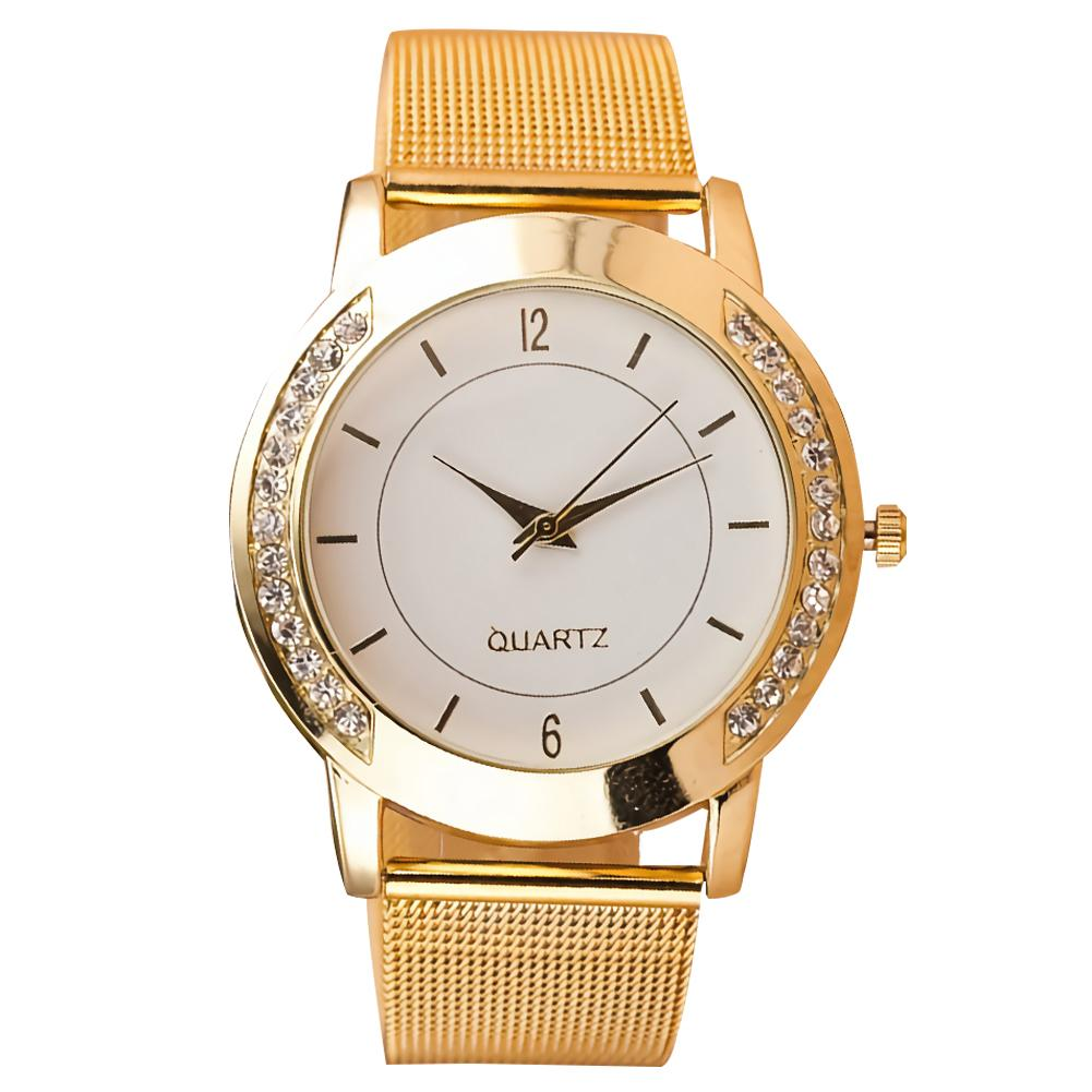 Luxury Watches For Women Wrist Watch Women Round Dial Mesh Band Arabic Numbers Analog Quartz Wristwatches Women Wrist Watch