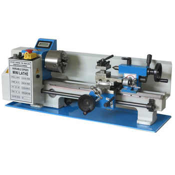 Brushless Motor Mini Lathe 32mm Spindle hole 100mm Chuck Ordinary Small Lathe - DISCOUNT ITEM  21 OFF Tools