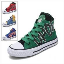 Детская обувь для девочек; детская парусиновая обувь с высоким берцем; кроссовки для мальчиков; Новинка года; модные бейсбольные ботинки; детская обувь для катания на коньках; 65