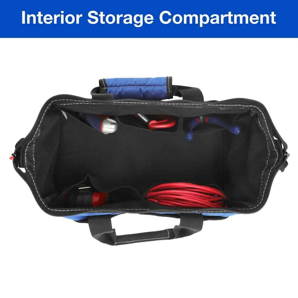 WORKPRO сумка для инструментов электрик сумка органайзер для инструментов водонепроницаемая сумка для хранения инструментов
