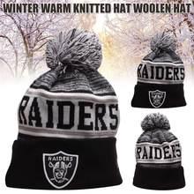 Inverno malha chapéus quente algemado à moda esportes skullies gorro com bola de lã boné de toque algemado curto melão chapéu crânio boné