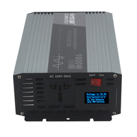 2020 New sustain power 1000w inverter pure sine wave inverter 24V 220V with fault prompts display and short circuit protection