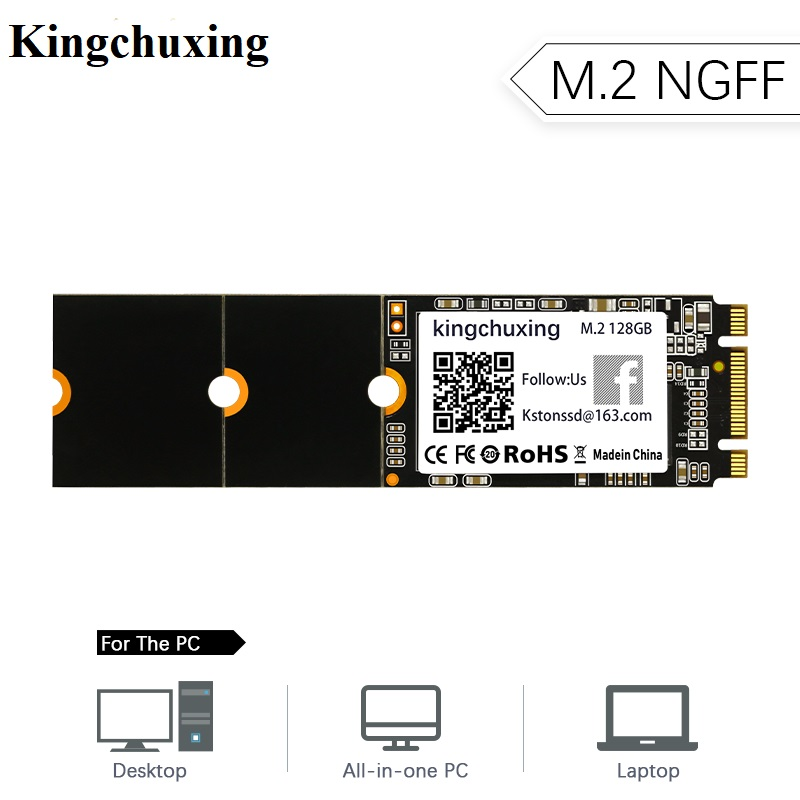 Kingchuxing SSD M.2 SATA 1 ТБ 512 ГБ 500 Гб 256 ГБ HDD M2 NGFF SSD 2242 2260 2280 HDD жесткий диск для ноутбука компьютера Xiaomi