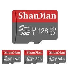 ShanDian 10 64GB Classe Original Cartão Micro SD Cartão de Memória microSD GB GB 32 16 8GB TF Cartão microSDHC/SDXC para Smartphone/Tablet PC