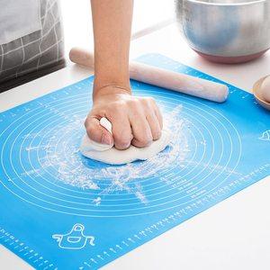 Кухонные аксессуары, силиконовые коврики для выпечки, антипригарный держатель для теста для пиццы, инструменты для приготовления выпечки, ...