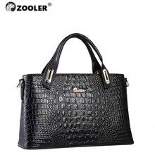 ZOOLER Luxury brand Genuine Leather Shoulder bag purse crossbody bags