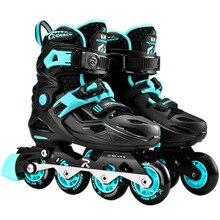 Skate-Skating-Shoe Sneaker Roller-Skates Inline-Roller Children Professional for Comfortable
