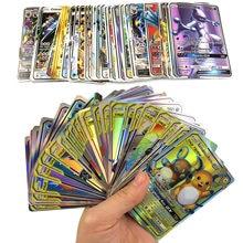 TAKARA TOMY – cartes Pokemon GX brillantes, 300 pièces, Carte de combat et de commerce, jouet cadeau pour enfants