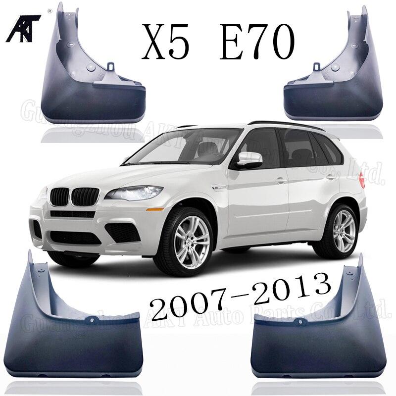 FRONT REAR MUDFLAPS FIT FOR BMW X5 E70 2007 2013 ACCESSORIES MUD FLAP FLAPS SPLASH GUARD MUDGUARDS 2008   2012|Mudguards| |  - title=