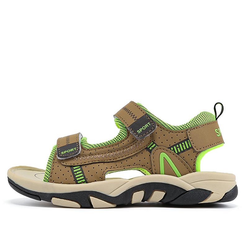 2020 Summer Boys Sandals Kid Sandals Children Shoes Cut-outs Rubber School Shoes Breathable Open Toe Casual Boy Sandal (11)