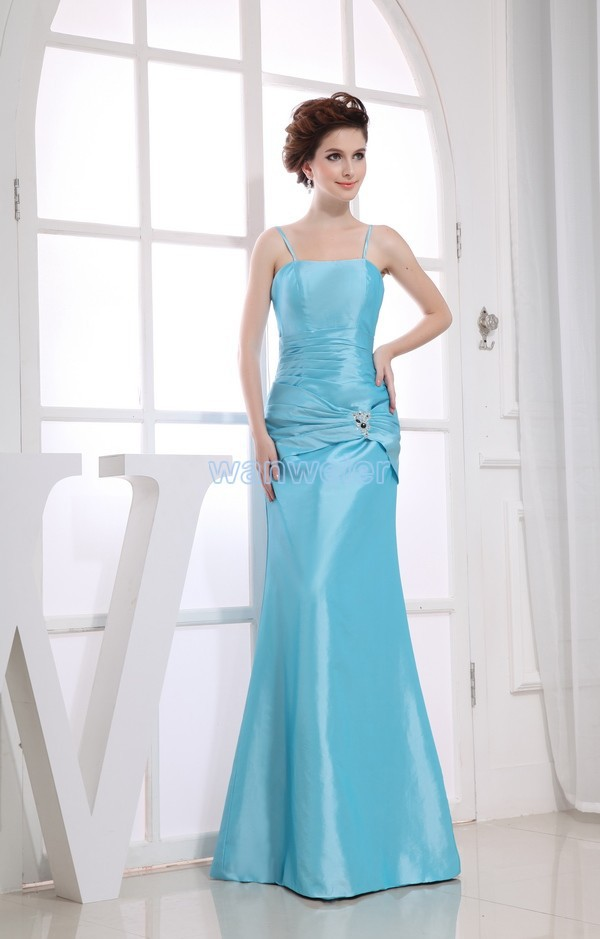 Free Shipping 2016 New Design Hot Blue Mermaid Long Mother Dress Brides Maid Dress Gown Custom Size/color Bridesmaid Dresses