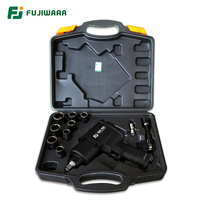 FUJIWARA Air Pneumatic Wrench 1/2 1280N.M Impact Spanner Large Torque Tire Removal Tool Nut Sleeves Pneumatic Power Tools