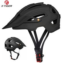 X TIGER Cycling Helmet TRAIL XC Bicycle Helmet In mold MTB Bike Helmet Road Mountain Bicycle Helmets Safety Cap Men Women