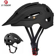 X TIGER 사이클링 헬멧 트레일 XC 자전거 헬멧 인 몰드 MTB 자전거 헬멧 도로 산악 자전거 헬멧 안전 캡 남성 여성