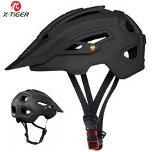 X-TIGER kask rowerowy TRAIL XC kask rowerowy w formie MTB kask rowerowy Road Mountain kaski rowerowe zawór bezpieczeństwa mężczyźni kobiety tanie tanio (Dorośli) mężczyzn CN (pochodzenie) 360g 8-15 Formowane integralnie kask X-TK-08 Cycling Helmet Bicycle Helmet Bike Helmet