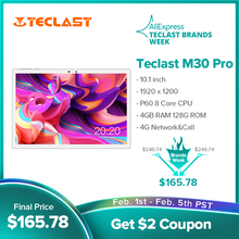 Tablet 1920x1200 Call Teclast M30 Dual-Wifi Android PC 8-Core P60 4G Pro GPS 128GB IPS