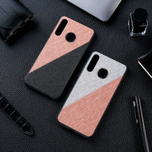 Silicon Cloth Texture Case For Huawei Huawei P30 Lite P20 Pro P10 Plus P8 P9 Lite 2017 Y9 Y7 Y5 Prime Y6 2019 2018 Case Covers silicon case for huawei y6 2018 y7 prime p8 lite 2017 nova 2 plus case cover huawei p10 lite honor 6a 6c pro case ring cover