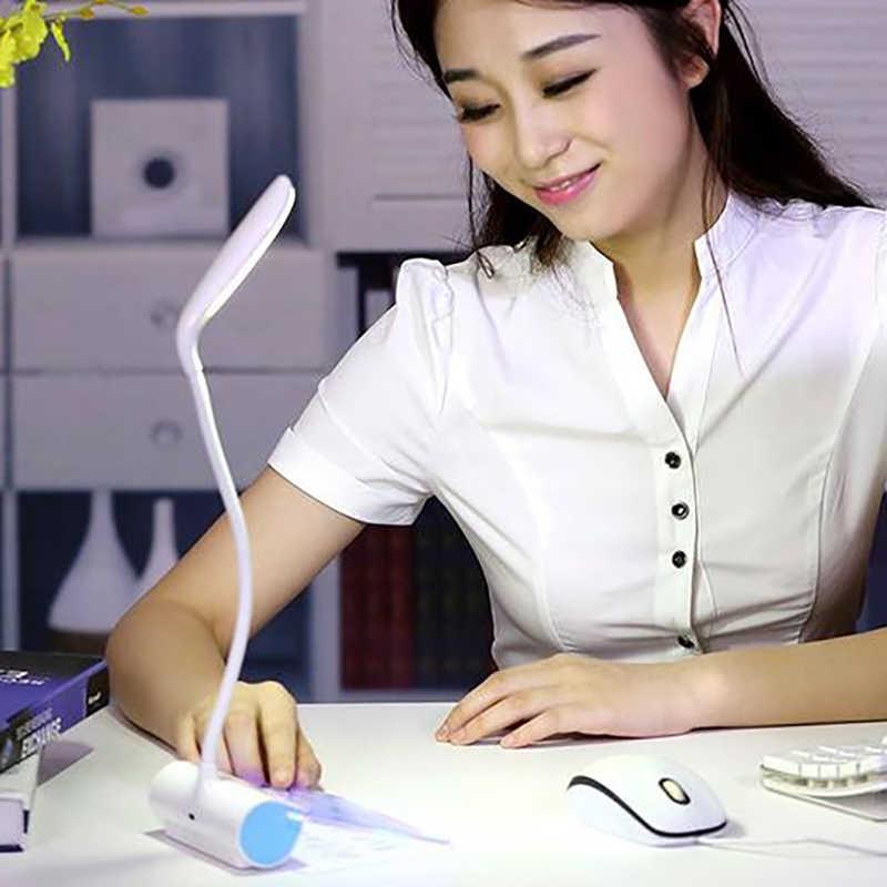מנורות שולחן USB Led מנורת שולחן עם הודעה לוח EyeProtection קריאת אור מיטת תלמיד קריאת אור מתנות רומנטי מאהב