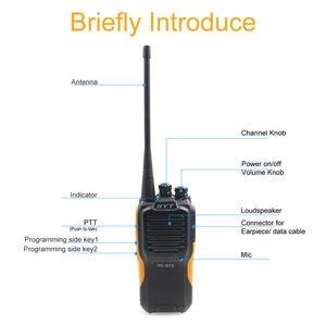 Image 5 - HYT TC 610 5W Portable Two Way Radio HYT TC 610 1200mAH standard battery portable two way radio