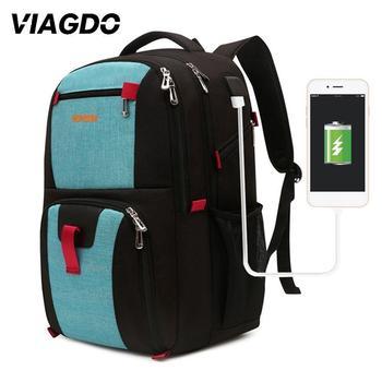 35L mężczyźni plecak na laptopa podróże sport turystyka kolarstwo torby wspinaczkowe kobiety Outdoor z zabezpieczeniem przeciw kradzieży plecak szkolny plecak USB Charge tanie i dobre opinie Viagdo 20-35l Fitness NYLON School Backpack Climbing Backpack Hiking Bag Sports Bag Training sports bag Laptop backpack