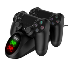 Controller-Charger Fast-Charging-Dock-Station Station4 Vogek Play PS4 for with Led-Indicator