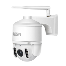 TMEZON PTZ IP Security 1080P Camera IR Cut Night Vision, Email Alarm, 2-Way Audio Weatherproof Surveillance CCTV Camera