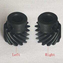 13 15 dientes 8mm 10mm taladro piloto M5 tornillo mano derecha izquierda 1 Módulo 1 M 45 grados acero piñón convexo Boss espiral engranaje helicoidal