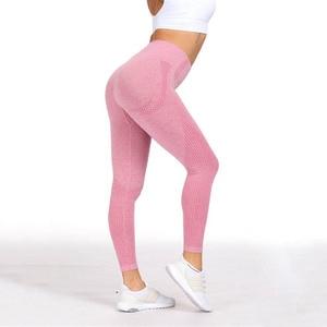 Image 5 - Kaminsky 14 色シームレスレギンス女性フィットネスレギンス女性デニムスポーツウェアファム高ウエストエクササイズレギンス