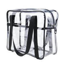 HobbyLane Transparent PVC Bag Travel Storage Cosmetic Beauty Box Wash Portable Hot Sale