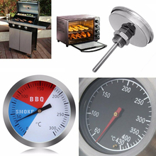 цена на Hot Thermometer Stainless Steel Extremely Accurate Readings Test Range 0-300 Degree Celsius Barbecue BBQ Smoker Thermometer