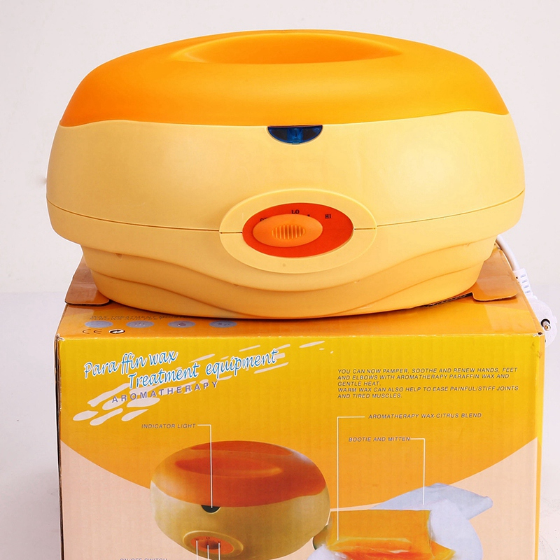 Hand Paraffin Heat Therapy Bath Wax Pot Warmer Beauty Salon Spa Wax Heater Equipment System Eu Plug in Wax Heaters from Home Appliances