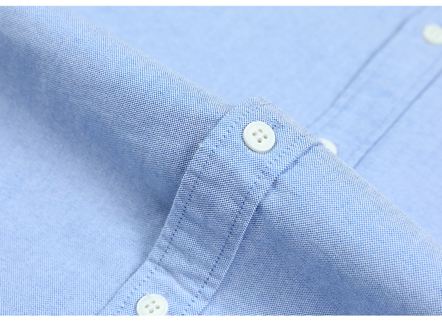 Classical Oxford Shirts with single chest pockets