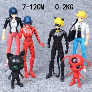 6 шт. экшн-игрушки, фигурки, анимационная модель, фигурка аниме, украшение, кукла, детские игрушки для детей