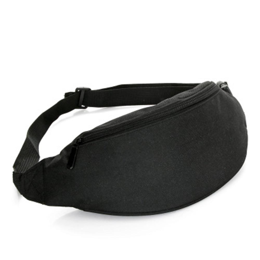 2019 Fanny Pack For Women Men Waist Bag Colorful Unisex Waistbag Chest Belt Bag Zipper Pouch Packs Travel Pack 110cm Belt Length