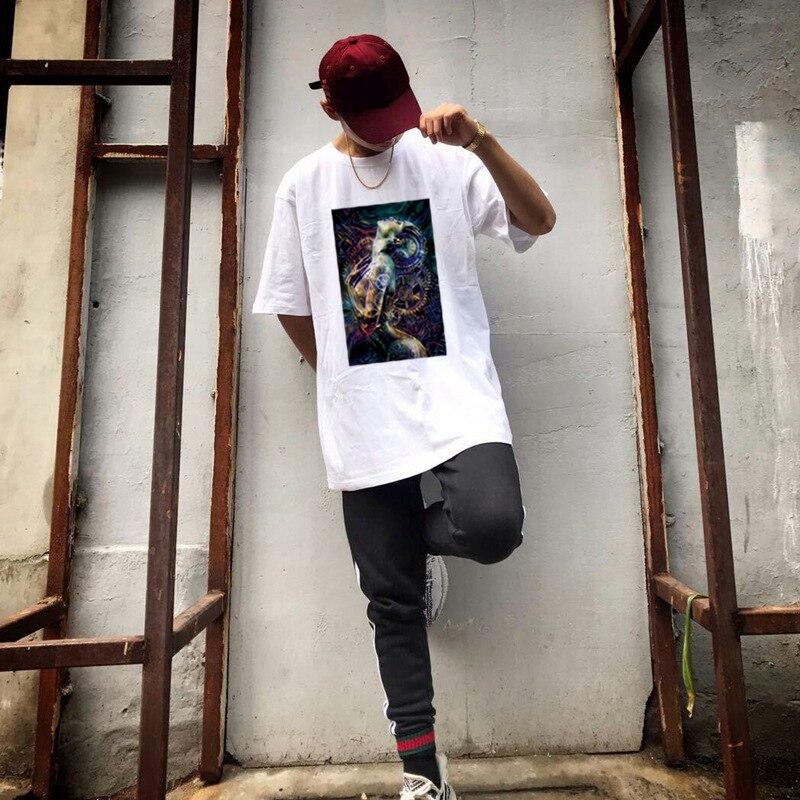 Men's T-shirt round neck anime 3D printed short-sleeved T-shirt male trend hip-hop loose T-shirt youth shirt unisex T-shirt фото